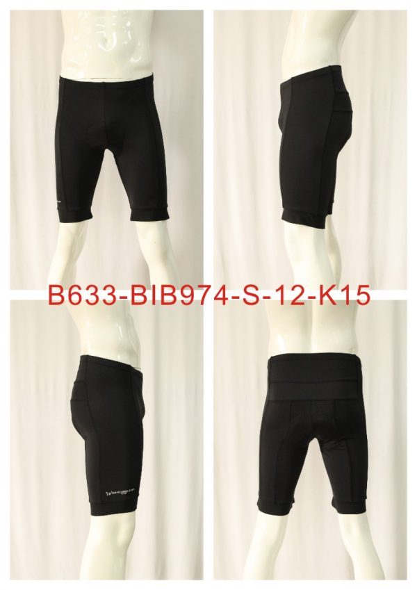 Short Conti Full Black Ltd